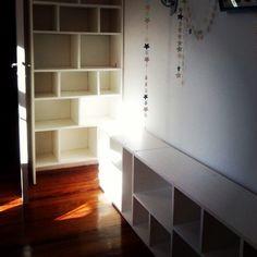 #bookshelf  #woodwork  #woodshop  #carpentry  #furniture  #home  #reinetamuebles  #mueblesamedida  #carpinteria  #madera  #interior  #casa  #biblioteca