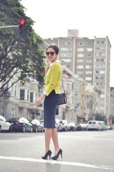 love long pencil skirts