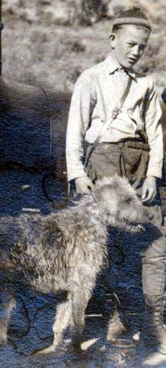 John Wayne and his dog, Duke