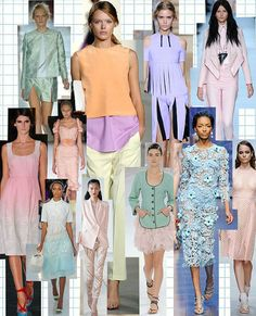 pastel colours Spring/Summer '14