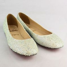 sale red bottom rhinestone flats,free shipping,no tax,50% off,only ...