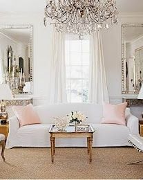 French Living Room - Design photos, ideas and inspiration. Amazing gallery of interior design and decorating ideas of French Living Room in living rooms by elite interior designers. French Living Rooms, Home And Living, Living Spaces, Living Area, Clean Living, Southern Living, Country Living, Southern Comfort, Home Interior