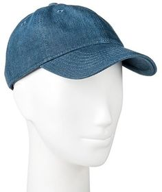 3e7676f4e25 Mossimo Women s Chambray Baseball Hat Turquoise Fashion