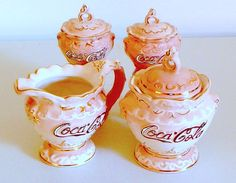 Coca-Cola Cream & Sugar and  Salt & Pepper