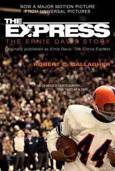 The Express: The Ernie Davis Story it was he who said just because I'm a star doesn't mean I don't know who I am doesn't mean I don't know the color of my skin and where I stand