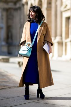 Street Style Snaps From Paris Fashion Week Fall 2015   StyleCaster
