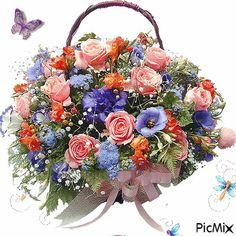 Gifs, Clipart, Bella, Floral Wreath, Wreaths, Vintage, Decor, Hampers, Messages