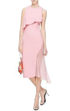 Vestido veraniego de Cushnie et Ochs Un vestido asimétrico con transparencias de de gasa rosa de Cushnie et Ochs puede ser una buena opción para no pasar calor e ir mona este verano.