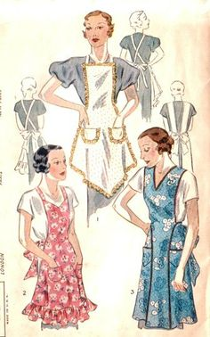 Beautiful Antique Pattern! 1930s era