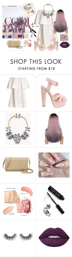 """""""Say you need me"""" by juliette-grimm ❤ liked on Polyvore featuring Apiece Apart, Dsquared2, Matt & Nat, Bobbi Brown Cosmetics, Velour Lashes and Lime Crime"""