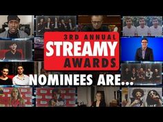 The Annual Streamy Awards Presented by Coca-Cola Will Be Streamed Live For Viewers Worldwide On February 2013 from The Hollywood Palladium Web Series, Award Winner, Coca Cola, Announcement, Red Carpet, February, Awards, Presents, Hollywood