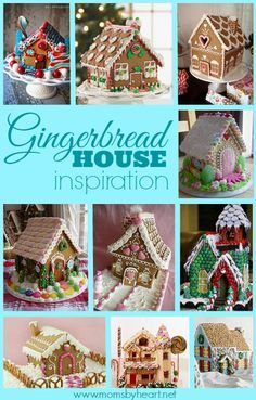 In preparation for Temecula Valley Museum's first Gingerbread House contest, here are some ideas for gingerbread house round-up Gingerbread House Designs, Gingerbread House Parties, Gingerbread Village, Gingerbread Decorations, Christmas Gingerbread House, Christmas Sweets, Christmas Baking, All Things Christmas, Christmas Cookies