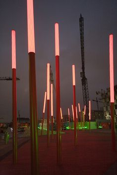 Grand Canal Square At Night by Infomatique, via Flickr