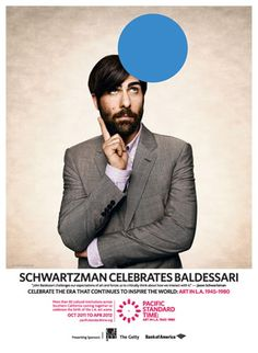 Jason Schwartzman and John Baldessari