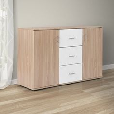 Modern Sideboard Cupboard Chest of Drawers Cabinet Buffet Living Room Furniture