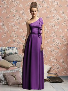 african violet dessy  Lela Rose Bridesmaids Style LX141XX...janet likes