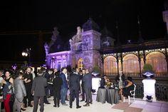 Terraza del Casino de Madrid, fiesta 75 aniversario Ron Botran. Foto: José Morraja.