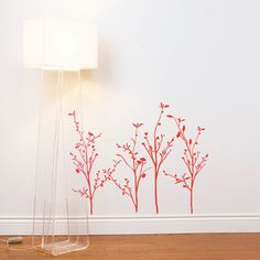 Spring Branches 28x30 Red, $35, now featured on Fab.