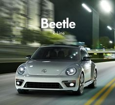 Introducing the new #VWBeetle R-Line. Check out this lean, mean, track-inspired machine.