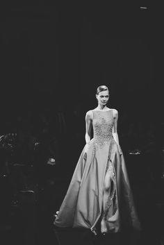 Tanya Katysheva atElie SaabHaute Couture