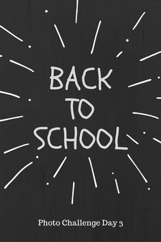 First Day Back to School!! It's the day we've been waiting for since June, the kids went back to school. It's back to going to bed early and getting up…