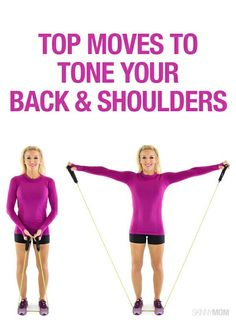 To get that upper body in shape, try these back exercise!