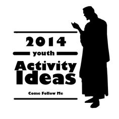 "Youth Activity Ideas to go along with the ""Come Follow Me"" Curriculum.  Ideas for each month to reinforce what is taught in the lessons.  LOVE IT!!!!"