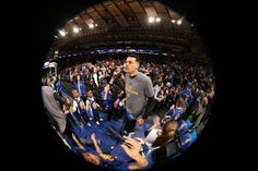 Matt Barnes of the Golden State Warriors is introduced before the game against the New York Knicks on March 5 2017 at Madison Square Garden in New...