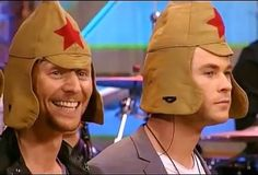 Chris: I hate everything. Tom: I HAVE A HAT! <Pinning for this comment.