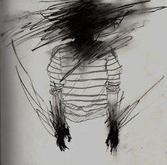 Visual hallucinations of a schizophrenic affected person. Schizophrenia Art, Vent Art, Arte Obscura, Sad Art, Arte Horror, Mental Illness, Oeuvre D'art, Art Inspo, Art Reference