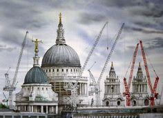 Buildings by David Gentleman