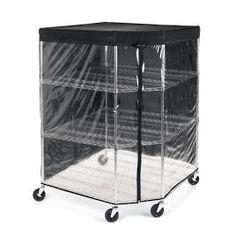 Four-Tier Corner Shelf & Liners Garage Storage Systems, Garage Storage Cabinets, Pantry Shelving, Storage Shelves, Bag Storage, Shelving Units, Basement Storage, Corner Closet Organizer, Sports Equipment Storage