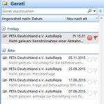 PeTA verletzt §5 Punkt 2 des TMG und bekommt gleich einmal Post von Gerati.de