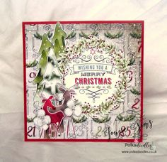 Yep, still wishing you a Merry Christmas ... in October     |      Lulu and Cardmaking.