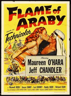 flame-of-araby-1951-adventure.png 580×782 pixels