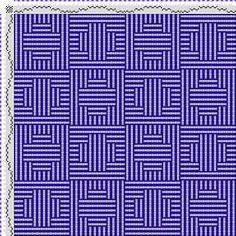 draft image: Figurierte Muster Pl. XLVIII Nr. 3 (a) Motif 12, Die färbige Gewebemusterung, Franz Donat, 6S, 6T