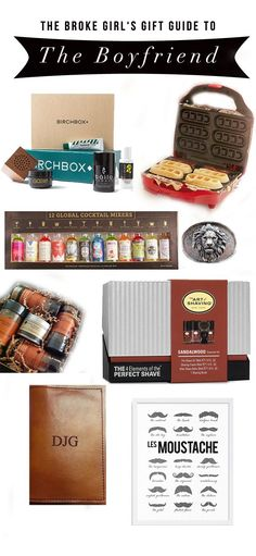 less expensive gifts for boyfriend