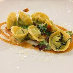 Tortelli di fave con ricci di mare - Chef Gennaro Immobile   Italia e Giappone, le eccellenze si incontrano a #LARTE