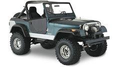 Jeep CJ (1976-1986) - classic. I had a 74 (CJ-5) and an 81 (CJ-7 Laredo) and those were the best!
