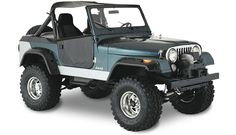 Jeep CJ (1976-1986) - classic. I had a 74 (CJ-5) and an 81 (CJ-7 Laredo) and those were the best!
