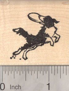 Border Collie Dog Rubber Stamp, Catching a Frisbee  #Border #Catching #Collie #Frisbee #Rubber #Stamp From BorderCollies.xyz. Click through for more!