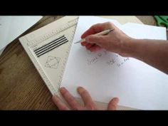 Martha Stewart Score Board - How to make your own envelopes for 6 in. square cards