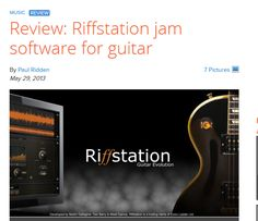 1000 images about reviews about riffstation from users on pinterest guitar youtube and. Black Bedroom Furniture Sets. Home Design Ideas
