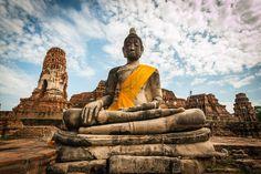A trip to Bangkok and Ayutthaya Bangkok, Thailand, Travel Guides, Statue Of Liberty, Buddha, Statue Of Liberty Facts, Statue Of Libery
