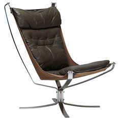 1stdibs.com | Falcon Chair By Sigurd Resell
