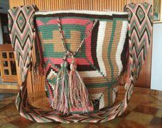 Large Mochila Wayuu Handmade Large Selection por MochilasWayuu305