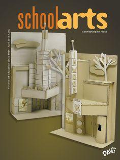 SchoolArts Magazine, April 2012, art education magazine for K-12 art educators, #arteducation, #arted