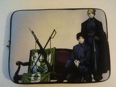 Case laptop Roy and Riza
