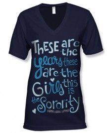Kappa Kappa Gamma T-shirt - adorable perfect for recruitment
