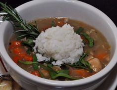 Motor Bar & Restaurant Turkey, Spinach and Jasmine Rice Soup - JSOnline